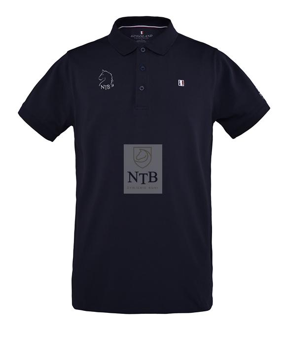 efeb66e298197e Męska koszulka Polo Kingsland dla NTB NTB24